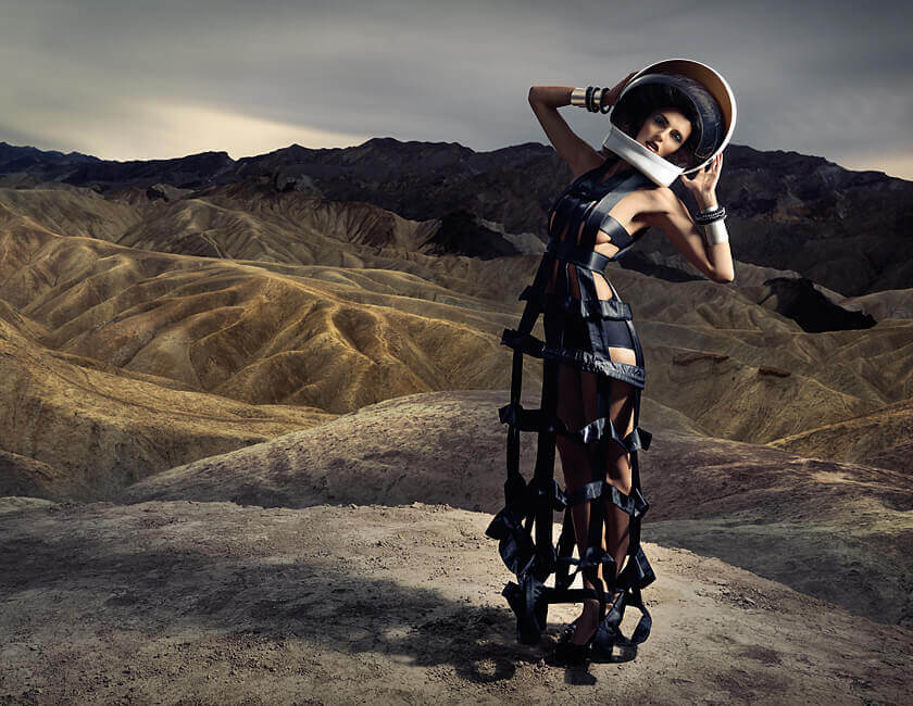 With fashion photography, people often think of the models, the elaborate sets and the stylish props.