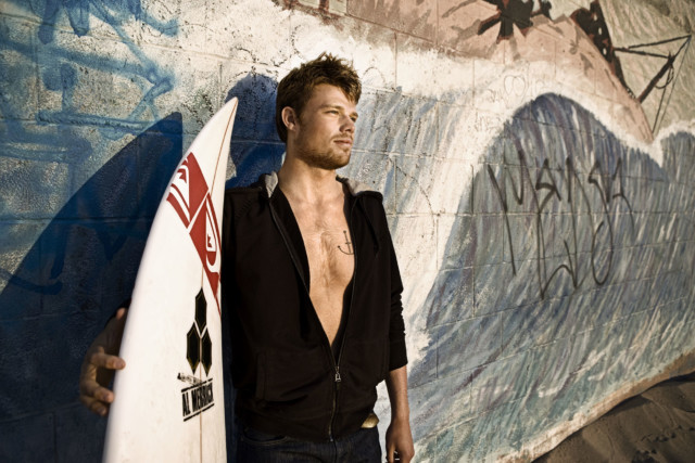Dane Reynolds by sports photographer Michael Grecco