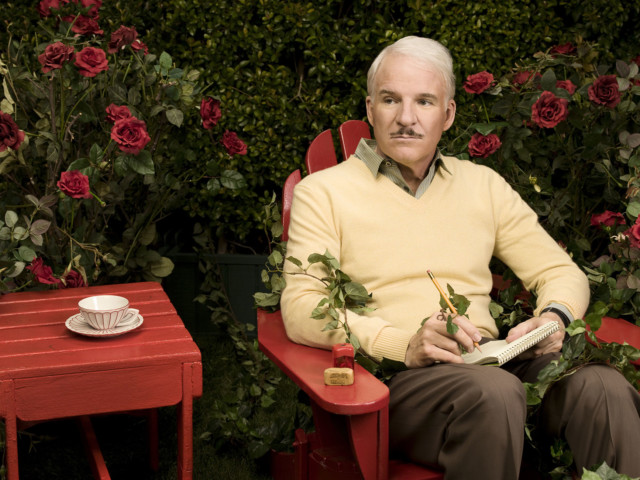 Steve Martin by celebrity photographer Michael Grecco
