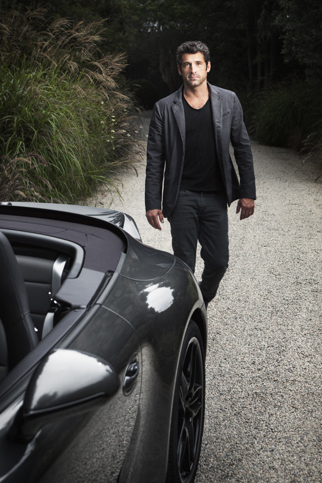 Patrick Dempsey by celebrity photographer Michael Grecco