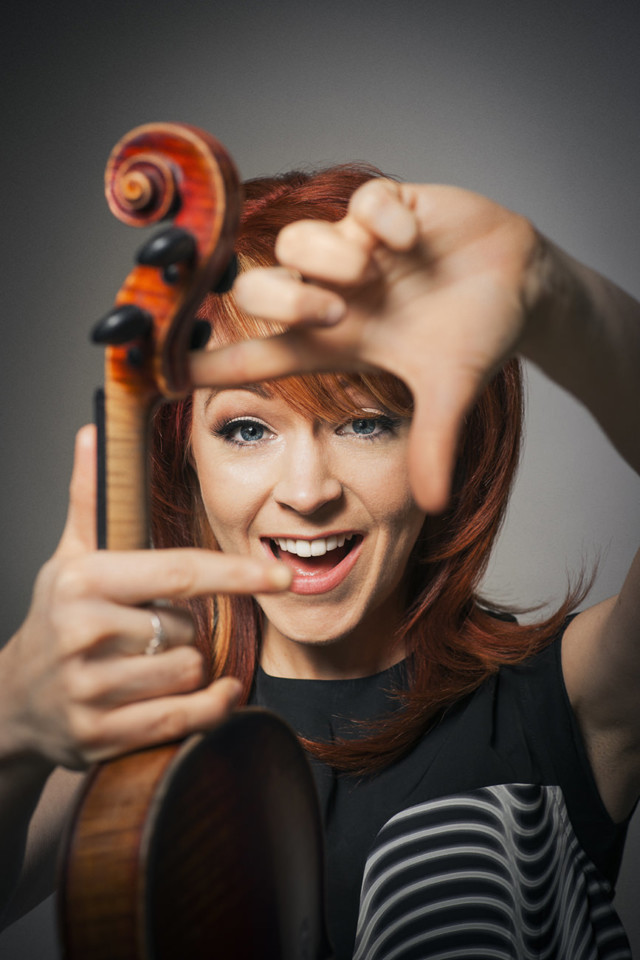 Lindsey Stirling by celebrity photographer Michael Grecco