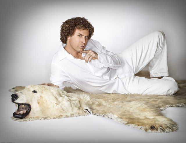 Will Ferrell by celebrity photographer Michael Grecco