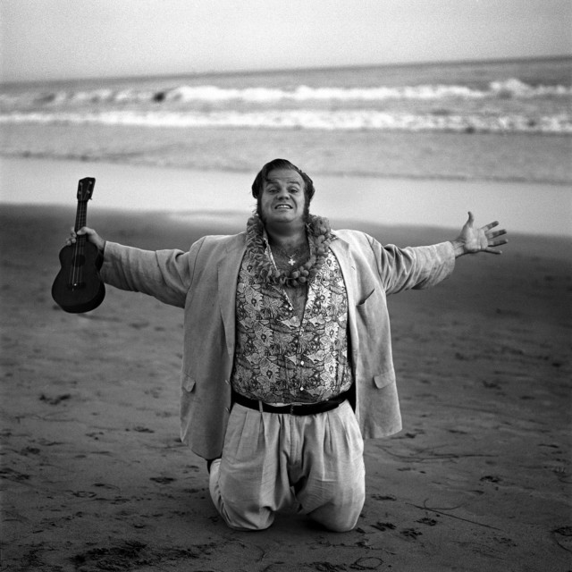 Chris Farley by celebrity photographer Michael Grecco