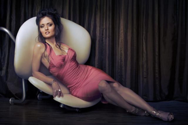 Danica McKeller by celebrity photographer Michael Grecco