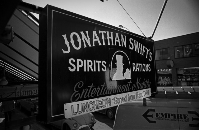 Boston punk rock venue Jonathan Swifts