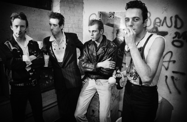 Punk rock icons The Clash in a book by music photographer Michael Grecco