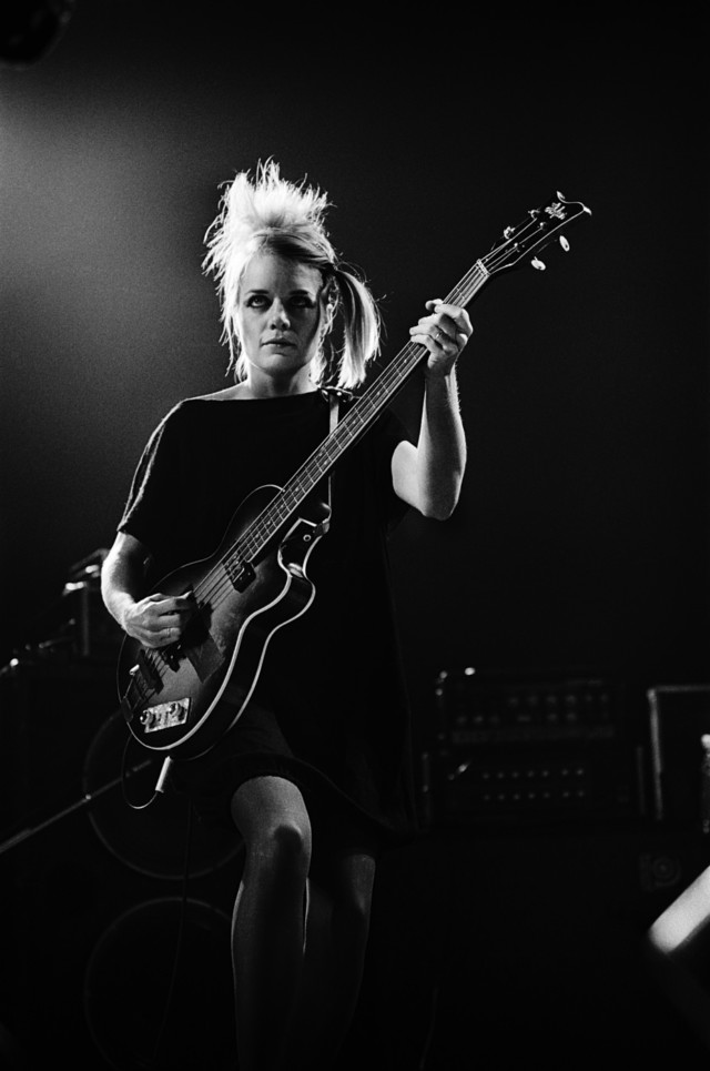 Tina Weymouth of Talking Heads #3, Boston, MA, 1980