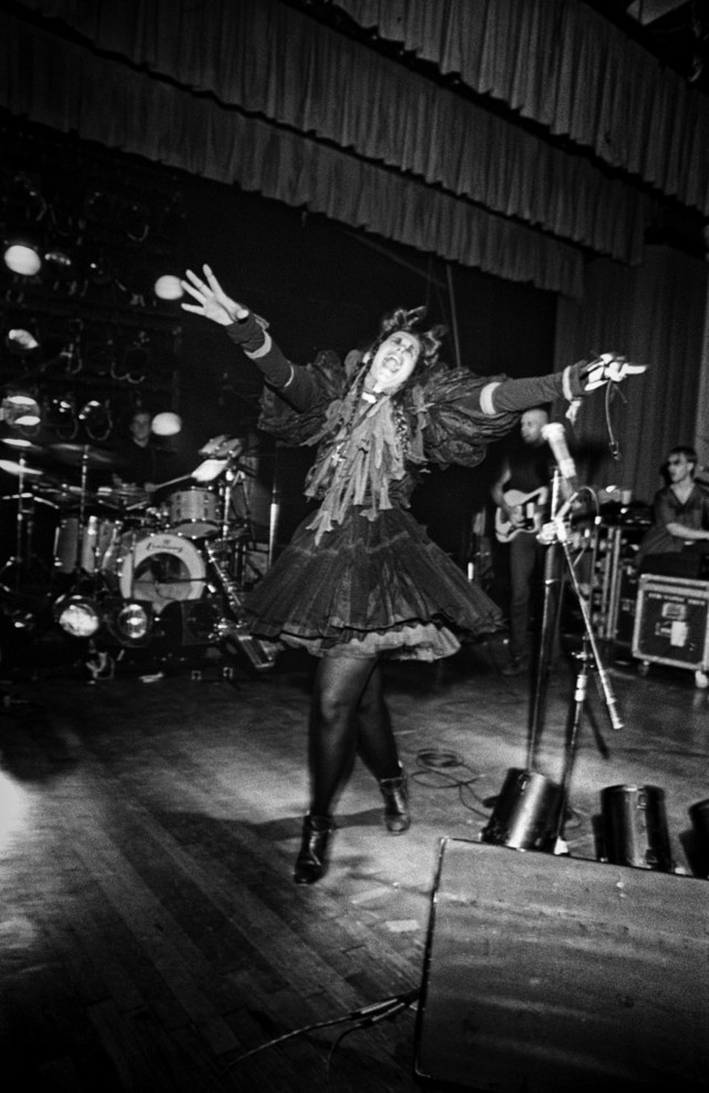 Lene Lovich punk rock show in Boston