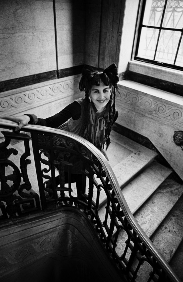 Lene Lovich punk rock fashion in book by music photographer Michael Grecco