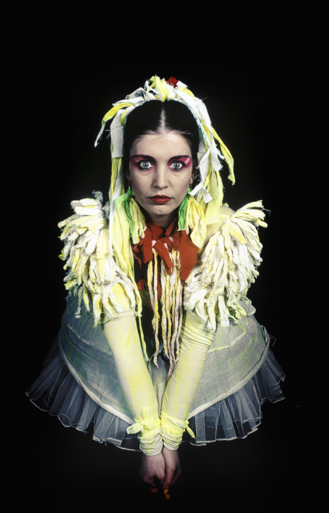 Lene Lovich punk rock fashion