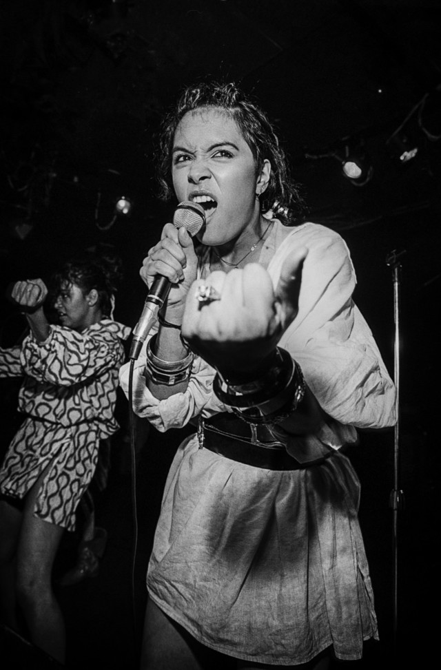 Pop punk rock artist Annabella Lwin and Bow Wow Wow performs