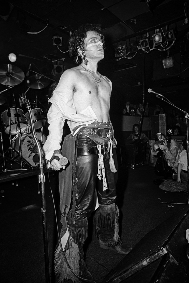 Adam Ant #3, Boston, MA, 1981