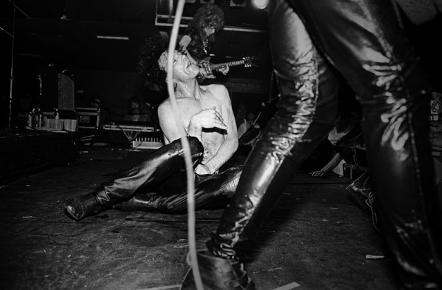 Lux Interior of The Cramps #4, Boston, MA, 1980