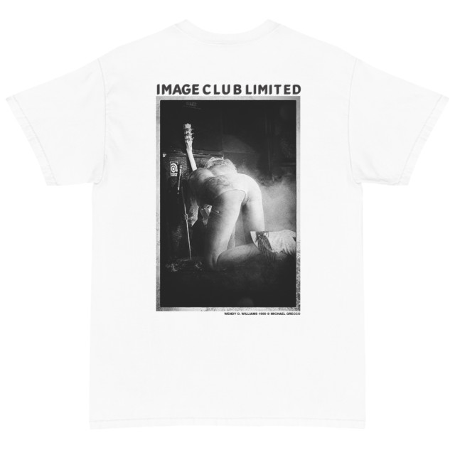 Wendy O. Williams of the Plasmatics Stage T Shirt (White)