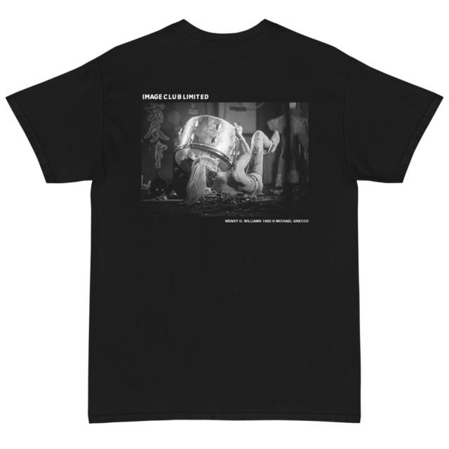 Wendy O. Williams of the Plasmatics Bass Drum T Shirt (Black)