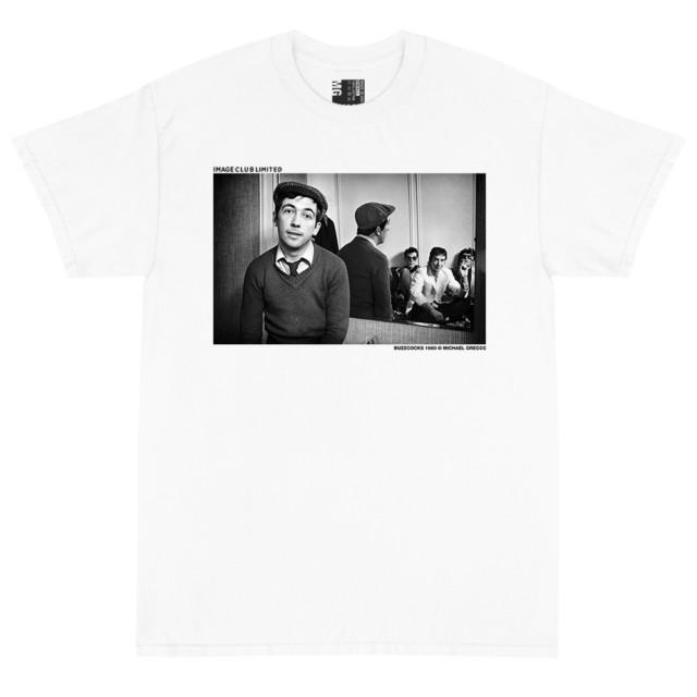 Punk Band the Buzzcocks Group Photo T Shirt (White)