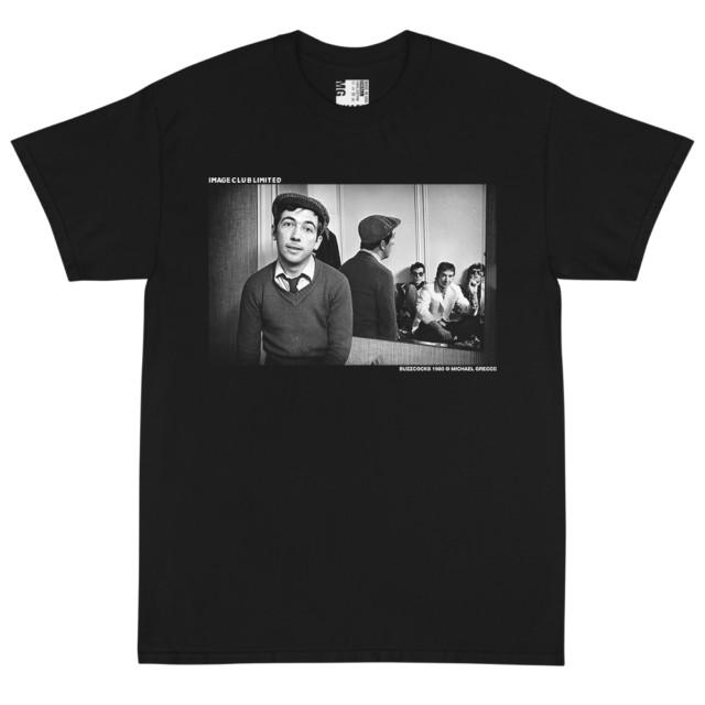 Punk Band the Buzzcocks Group Photo T Shirt (Black)