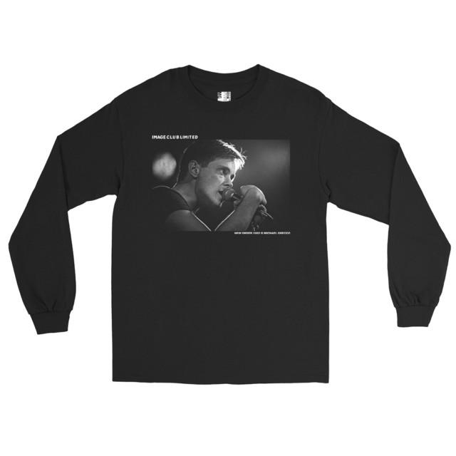 New Wave band New Order Long Sleeve T Shirt (Black)