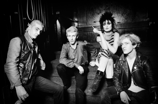 Siouxsie and the Banshees in punk history book by music photographer Michael Grecco