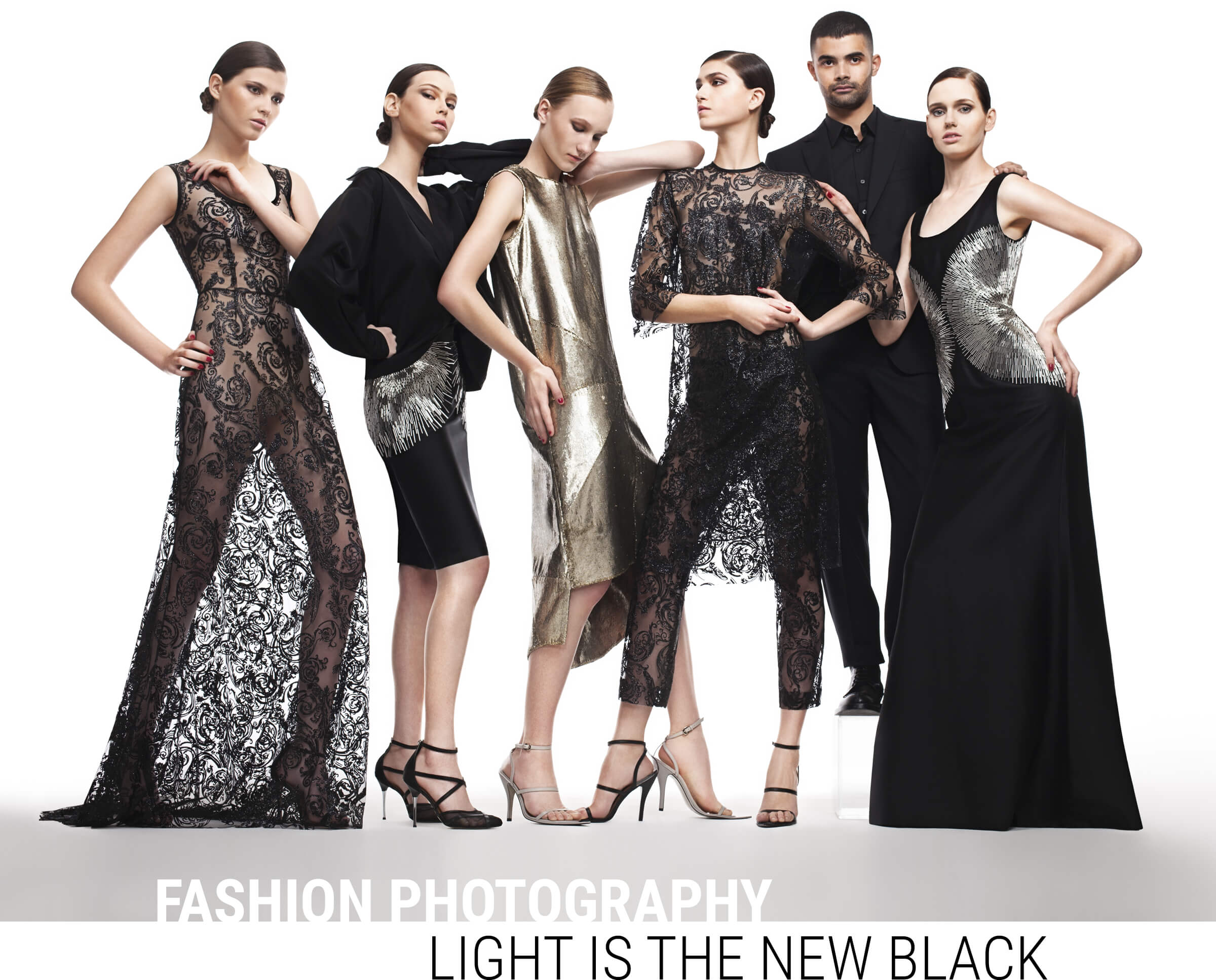 Fashion Photography - Light is the new black