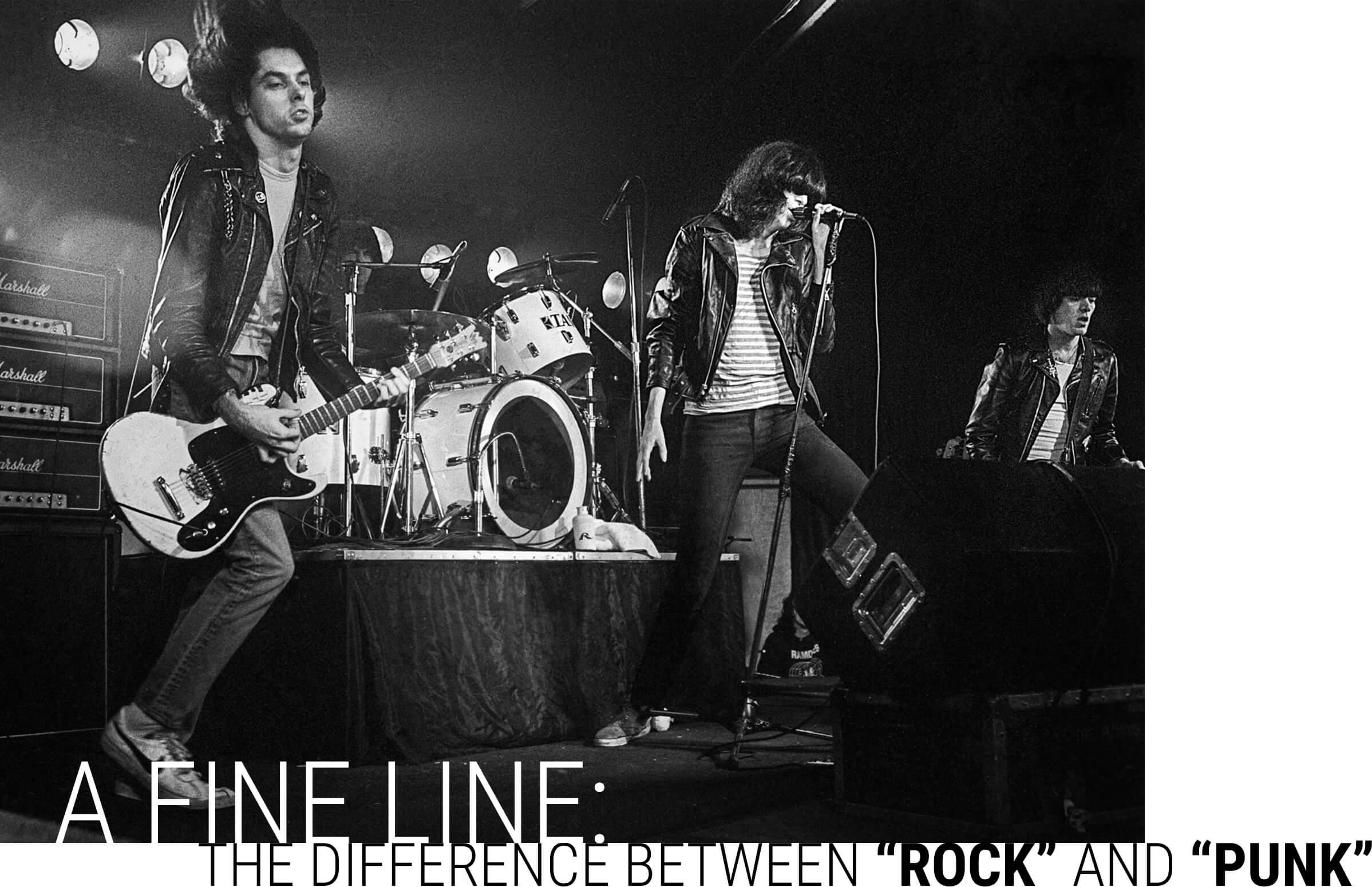 Ramones making punk rock history